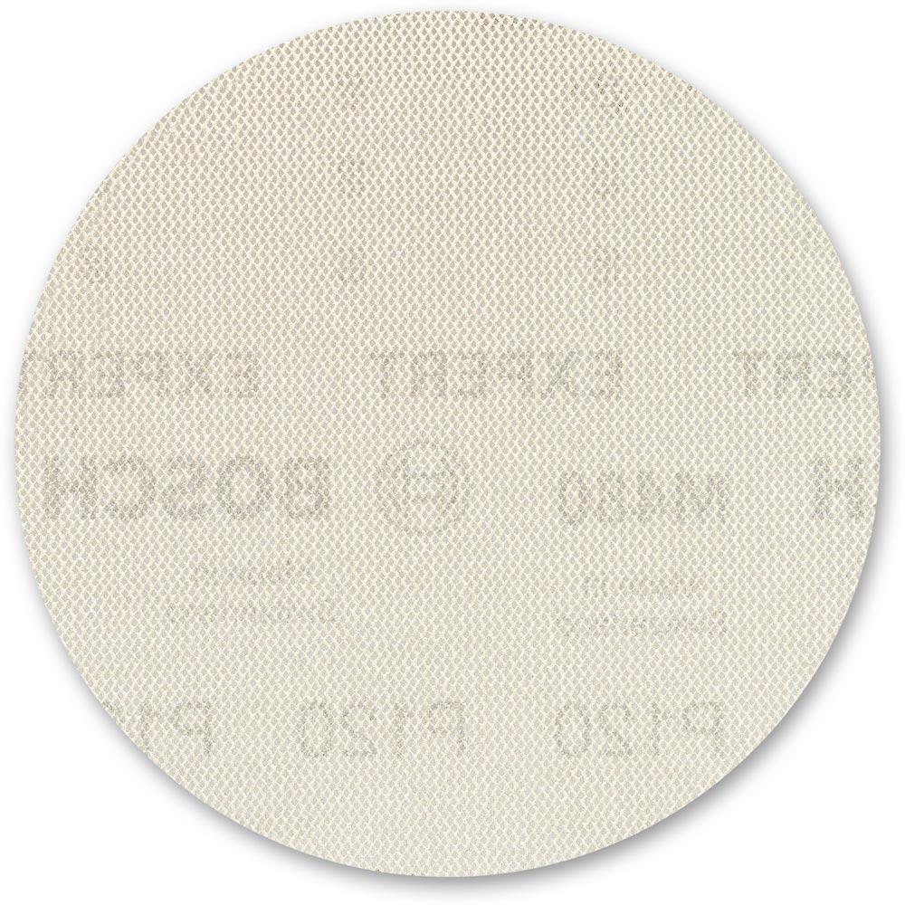 Pkt 5 125mm 120 Grit Bosch Abrasive Disc