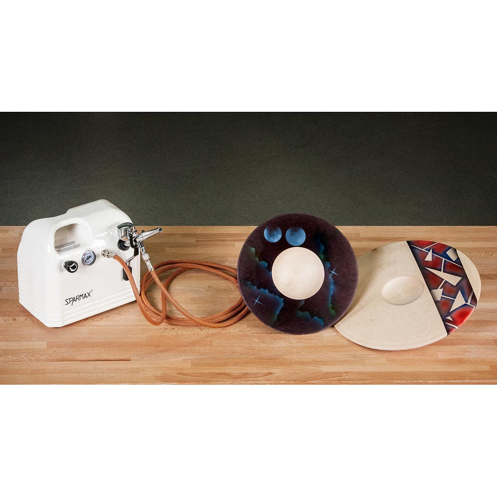 SprayCraft SP66 Professional Airbrush & Compressor Kit