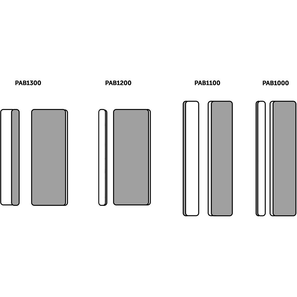 FlexiSander Dual-Grit Sanding Pads - 80 x 30 x 12mm (Pkt 3)