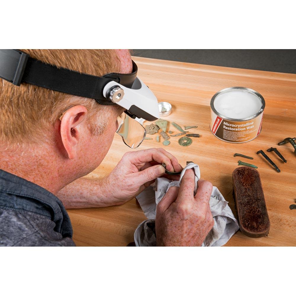 LightCraft Pro LED Headband Magnifier Kit