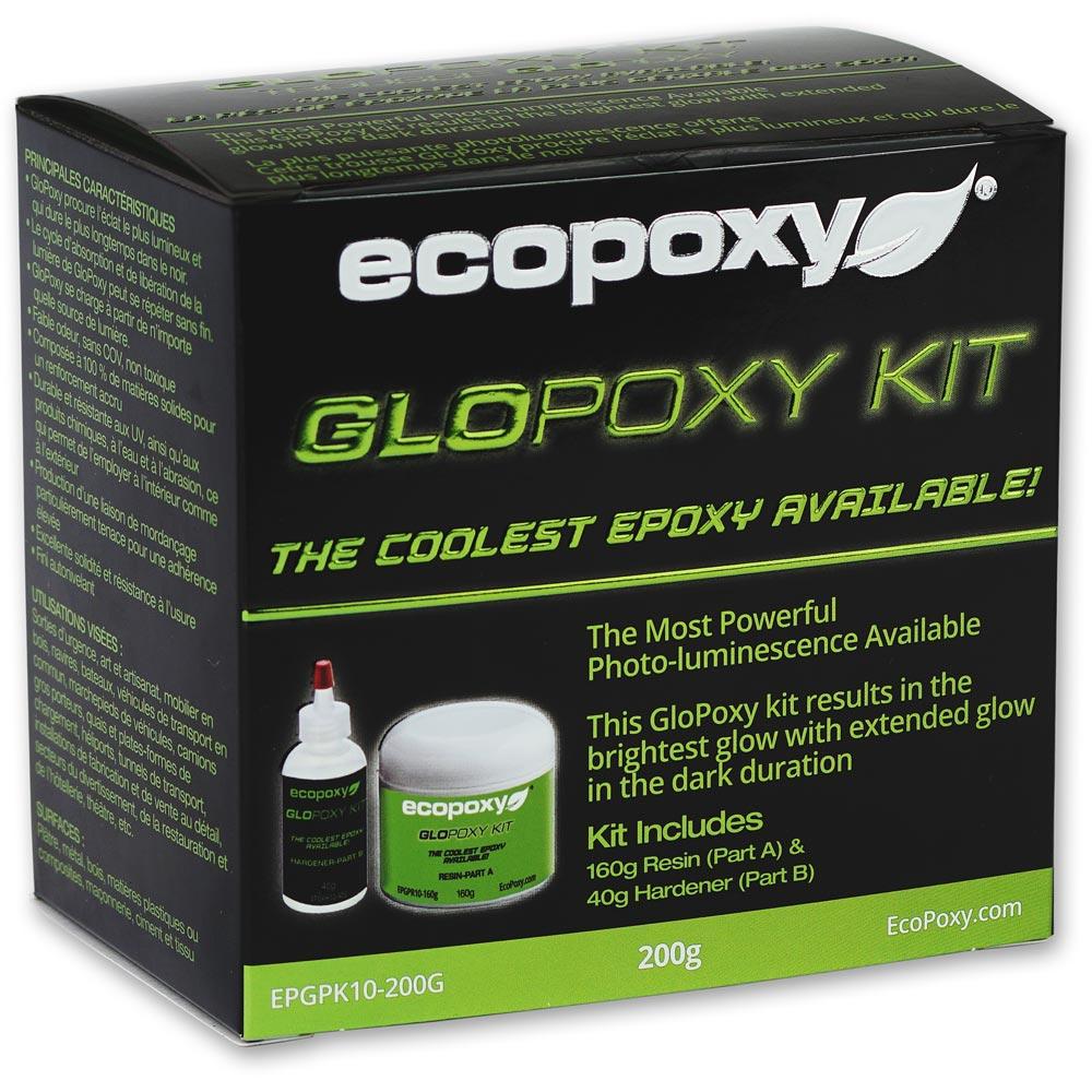 EcoPoxy GloPoxy Kit - Blue 200g
