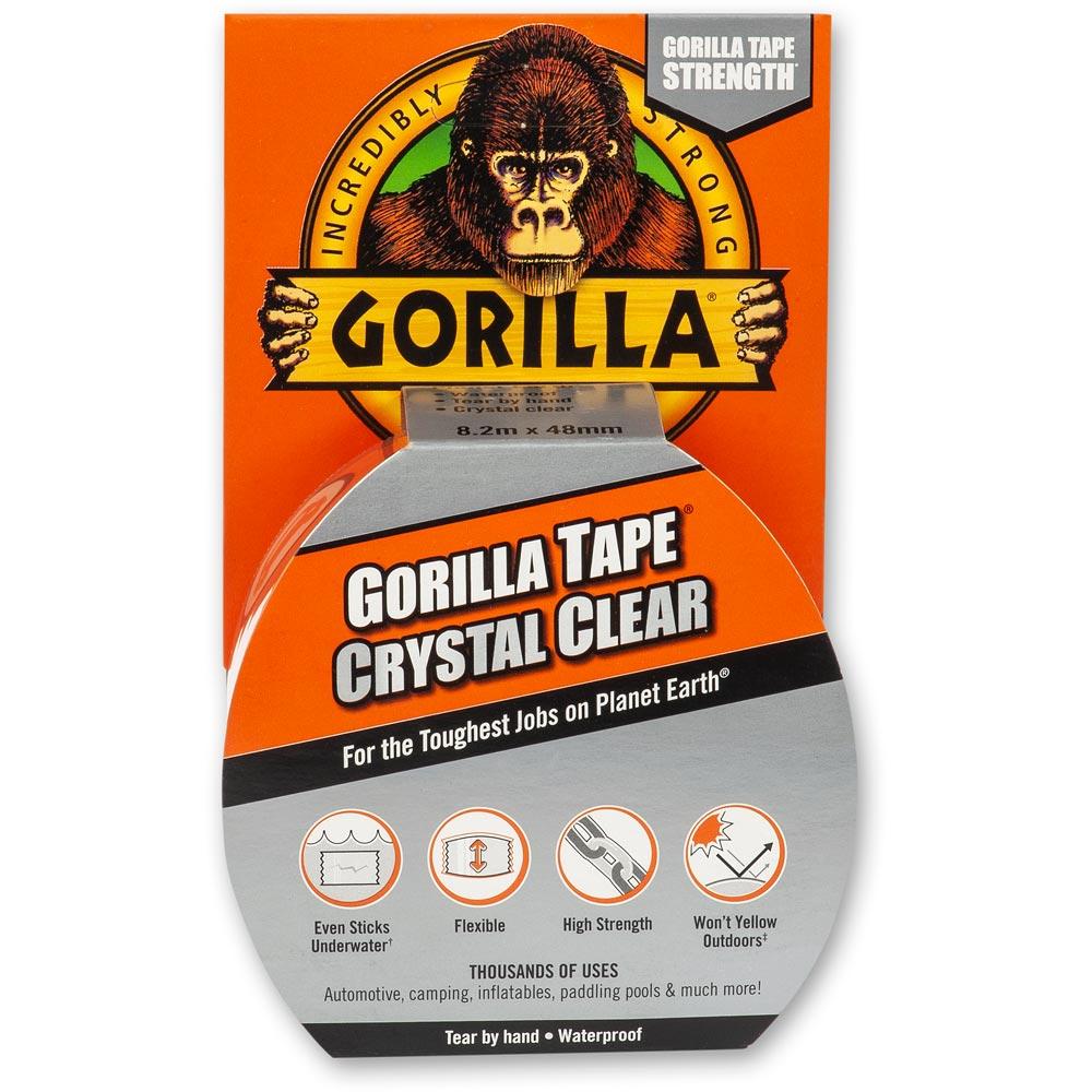 Gorilla Tape Crystal Clear 48mm x 8.2m