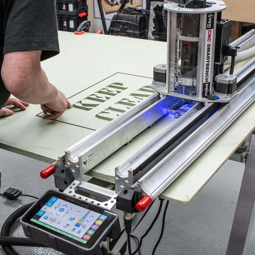 Trend CNC SmartBench Pro Software & T35A Extractor