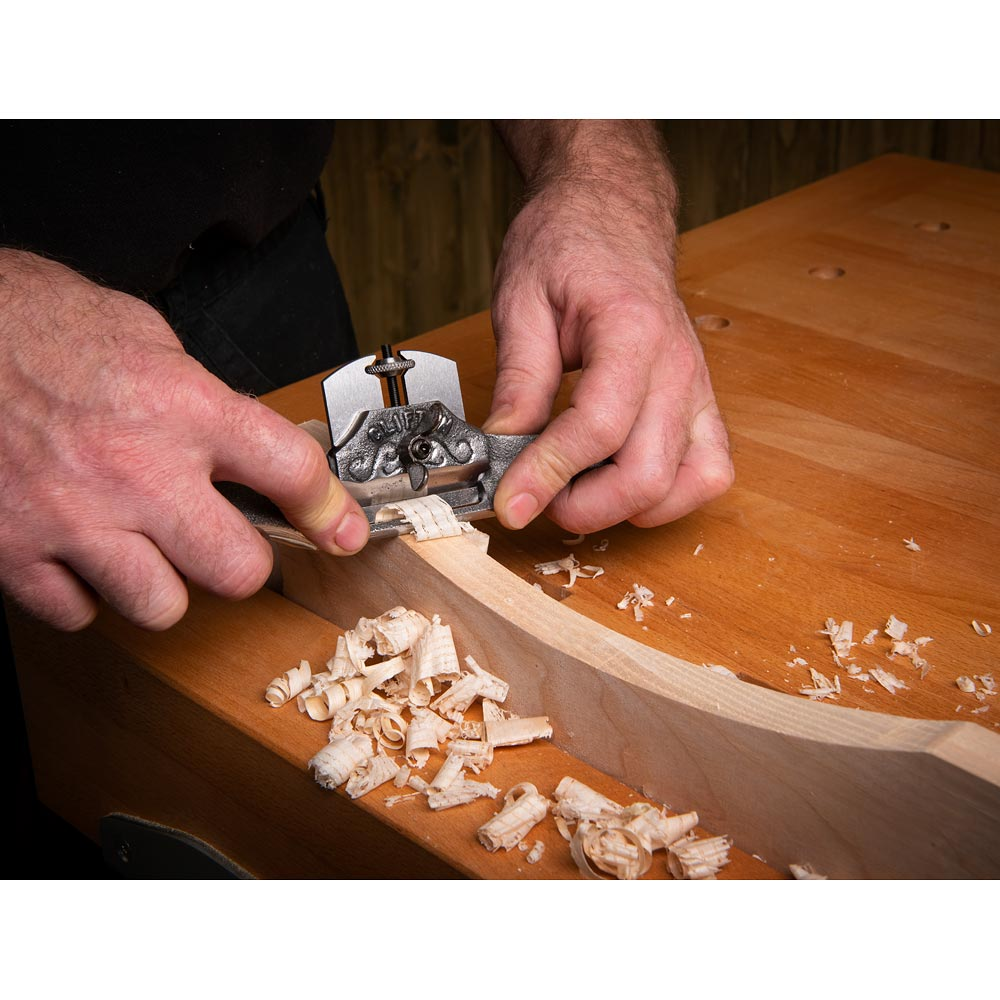 Clifton 650 Spokeshave - Curved Sole