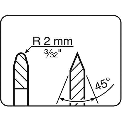 Tormek LA-124 Narrow Discs for LA-120
