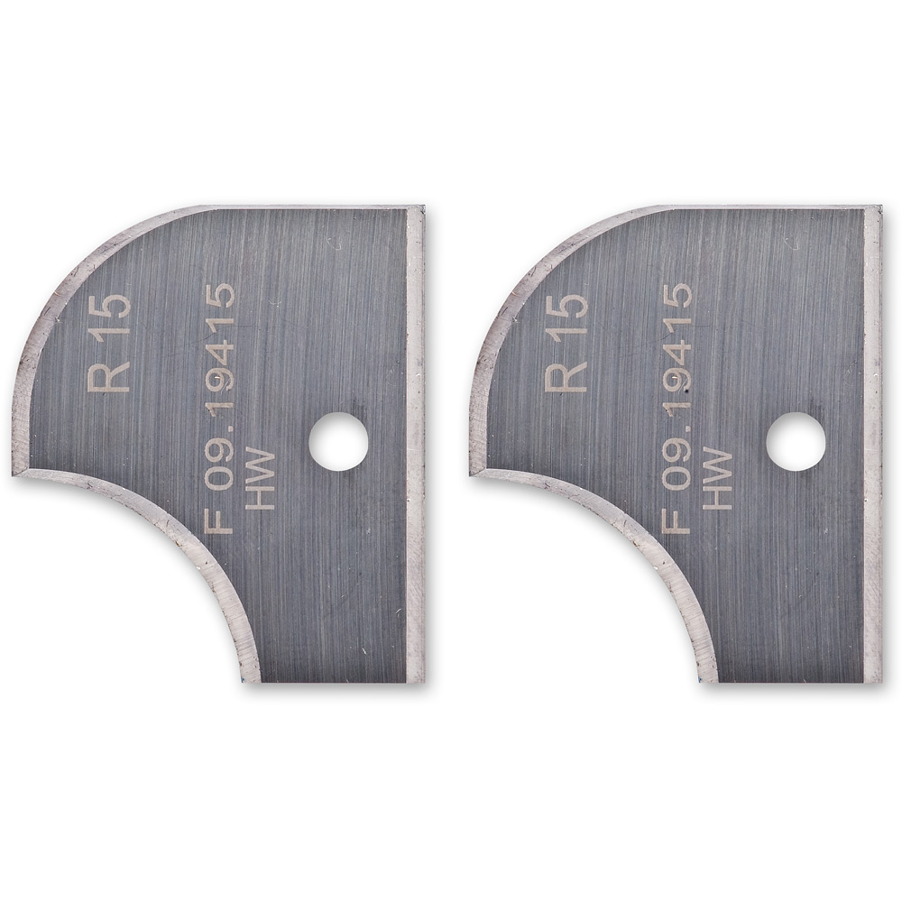 Axcaliber 15mm Radii Profile Knives