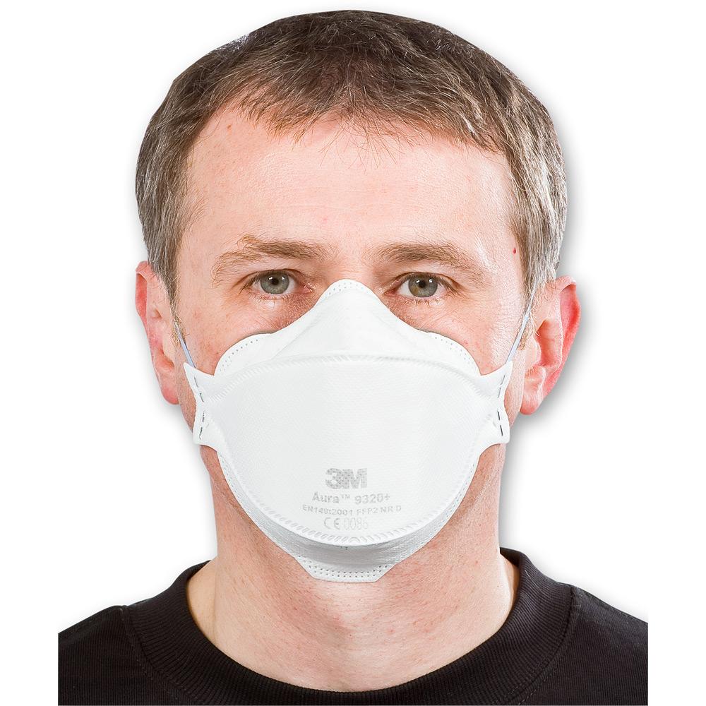 3M Aura 9320+ Disposable Respirator