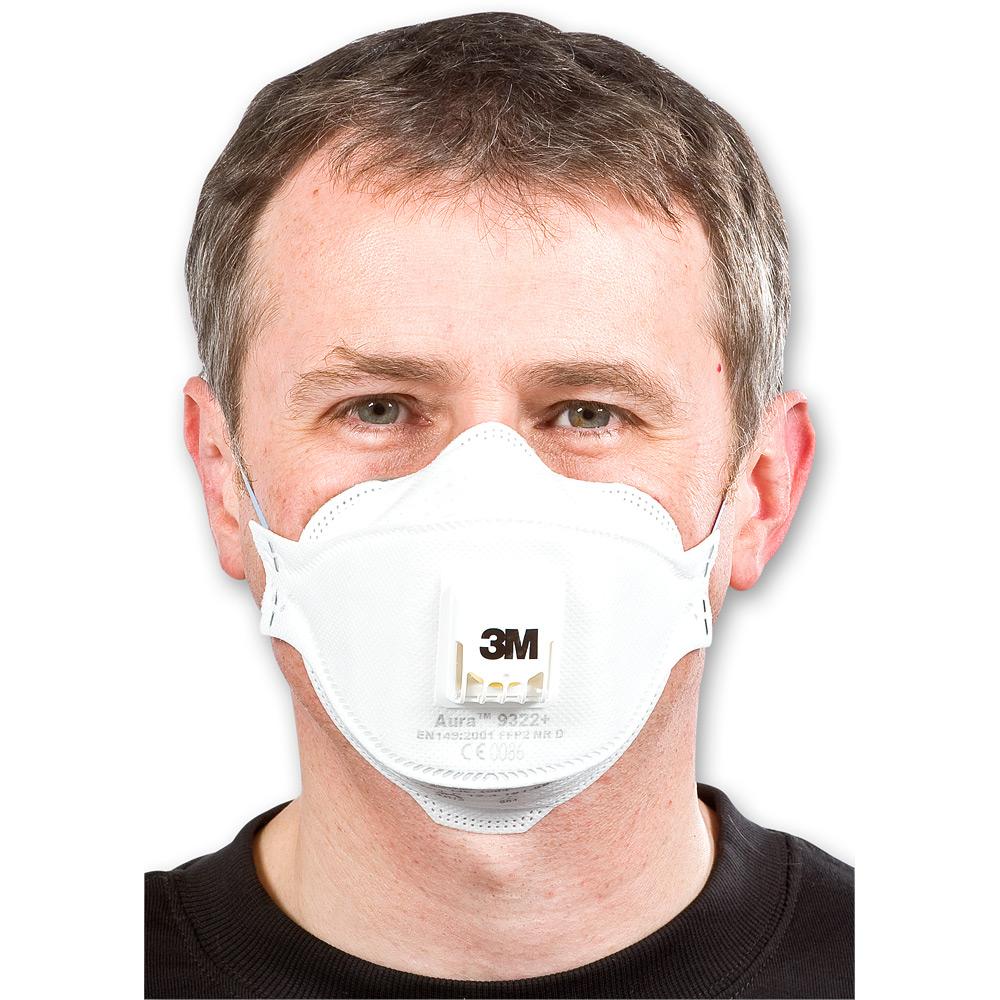 3M Aura 9322+ Disposable Respirator