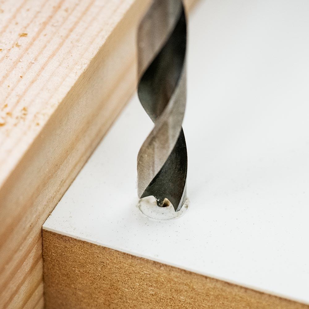 FISCH 8 piece SP Wood Twist Drill Bit Set