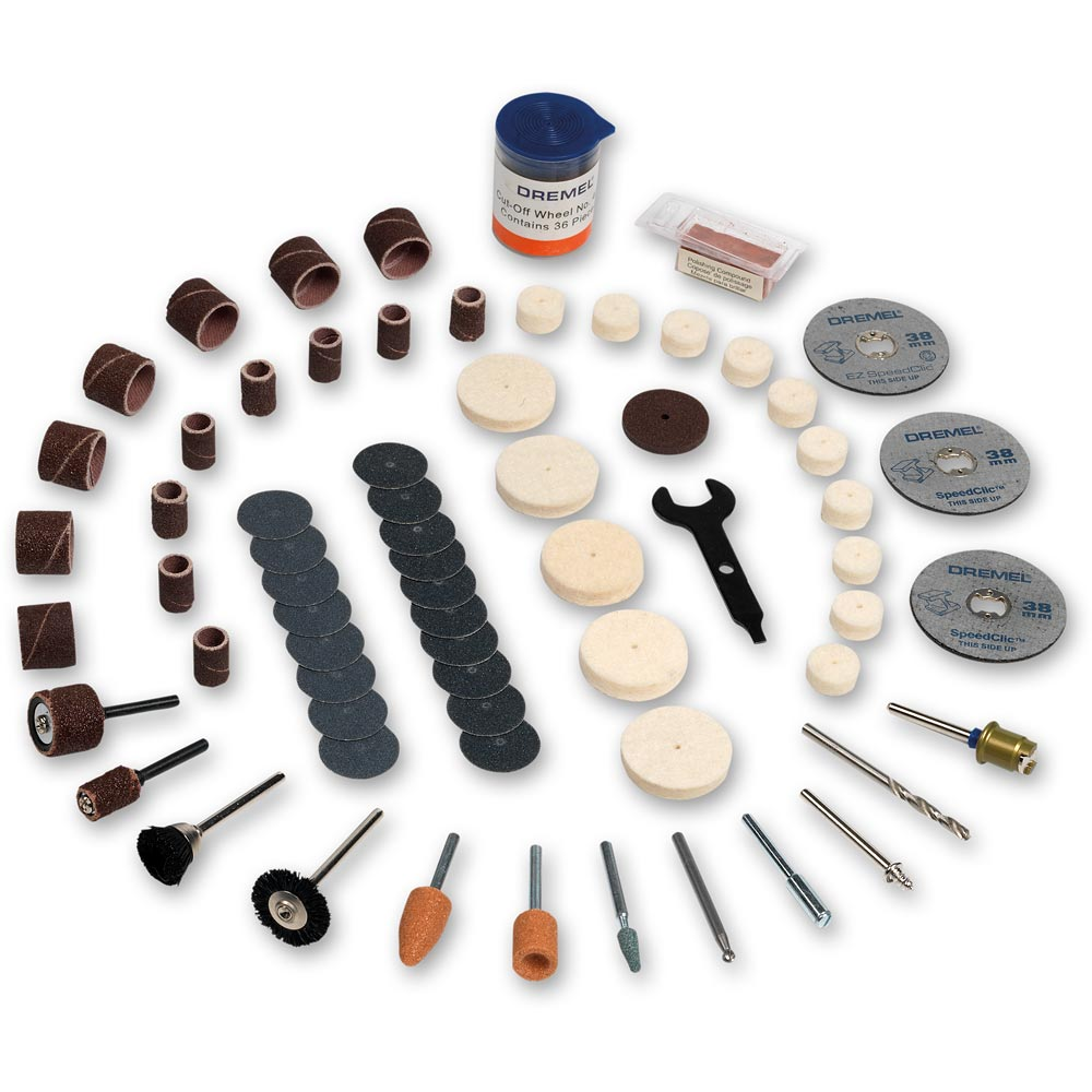 Dremel 100 Piece Multi-purpose Accessory Set