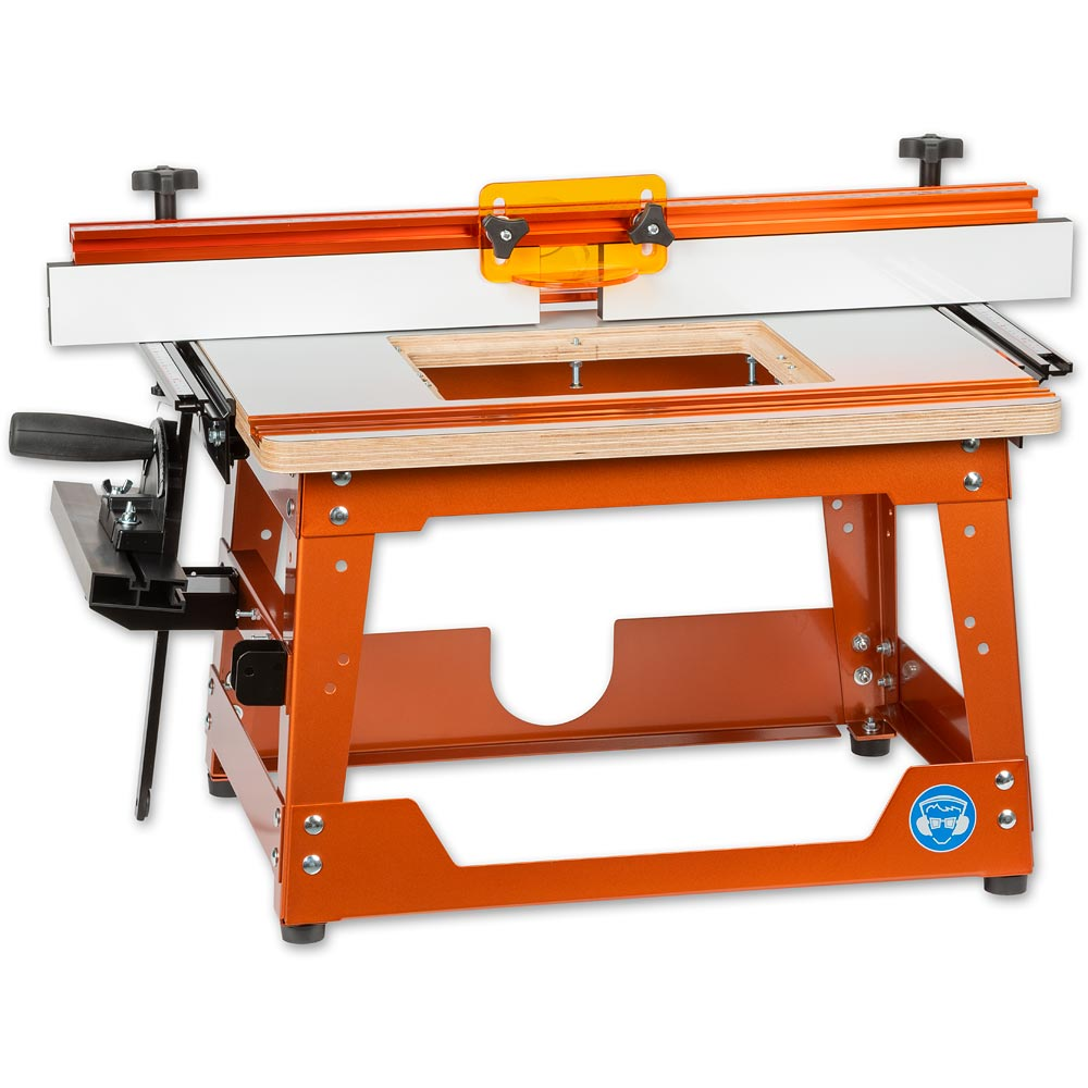ujk technology compact router table with laminated top router tables routing power tool accessories accessories axminster tools u0026 machinery