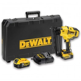 Dewalt Dcn660p2 Xr Brushless 2nd Fix Nailer 18v 5 0ah Cordless And Gas Nailers