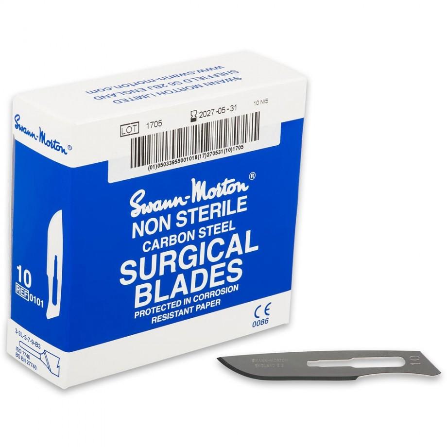 Swann Morton Scalpel Blades - No.10 (Box 100)