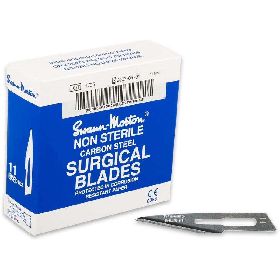 Swann Morton Scalpel Blades - No.11 (Box 100)