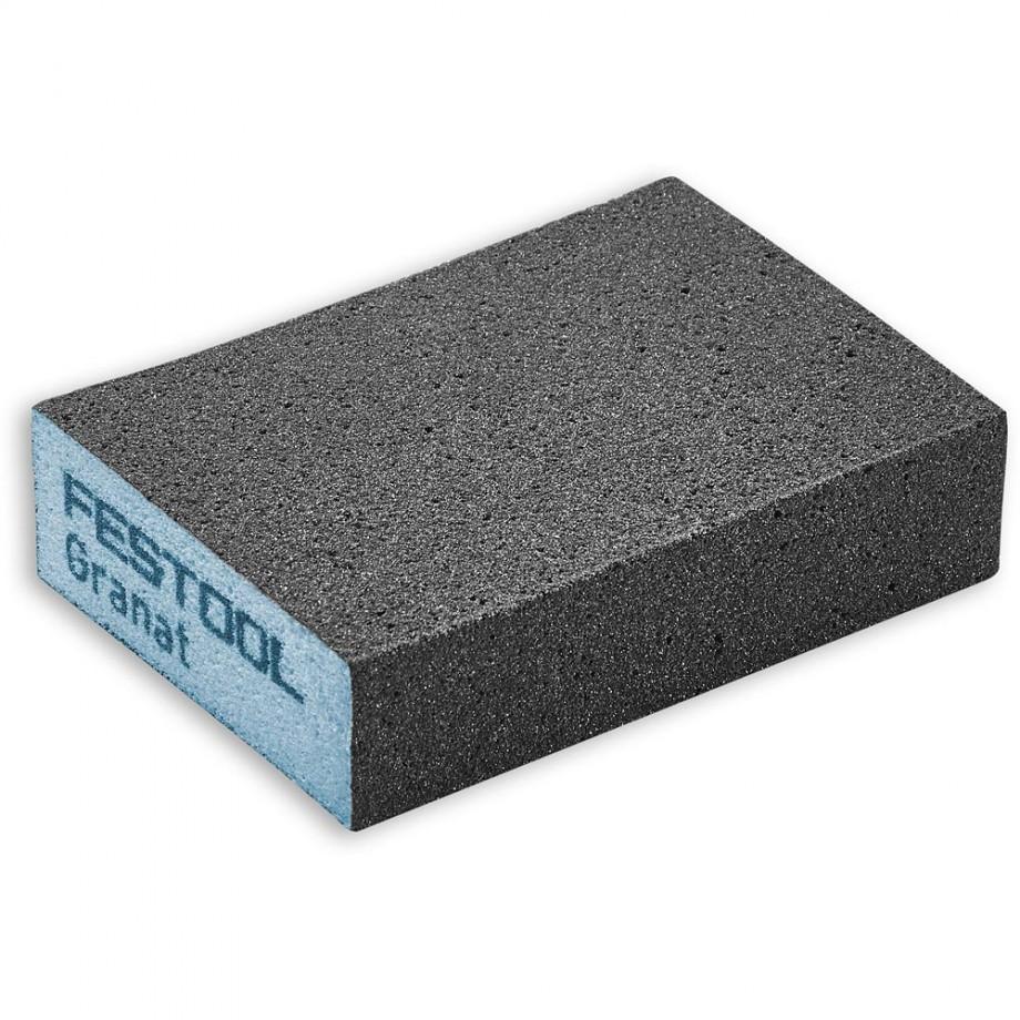 Festool Abrasive Sponge 69 x 98 x 26 60 Grit (Pkt 6)