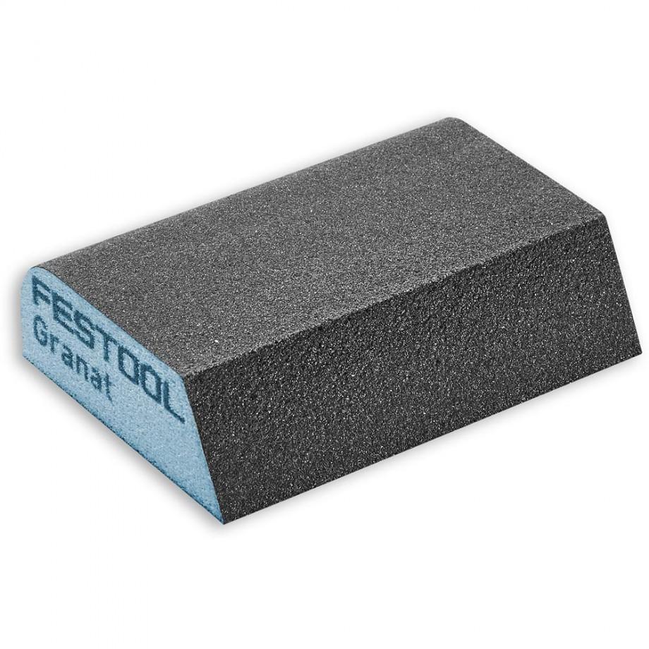 Festool Abrasive Sponge 69 x 98 x 26 120 Grit (Pkt 6)