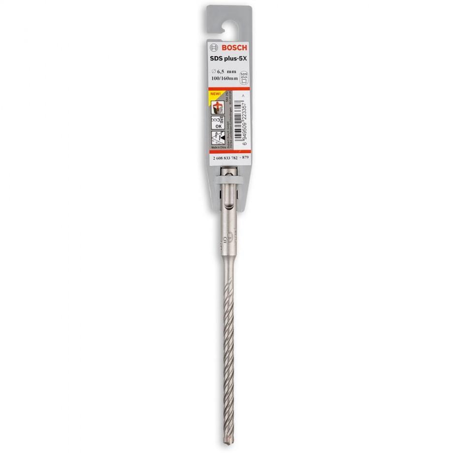 Bosch SDS+5  Hammer Drill Bit 6.5 x 100 x 160