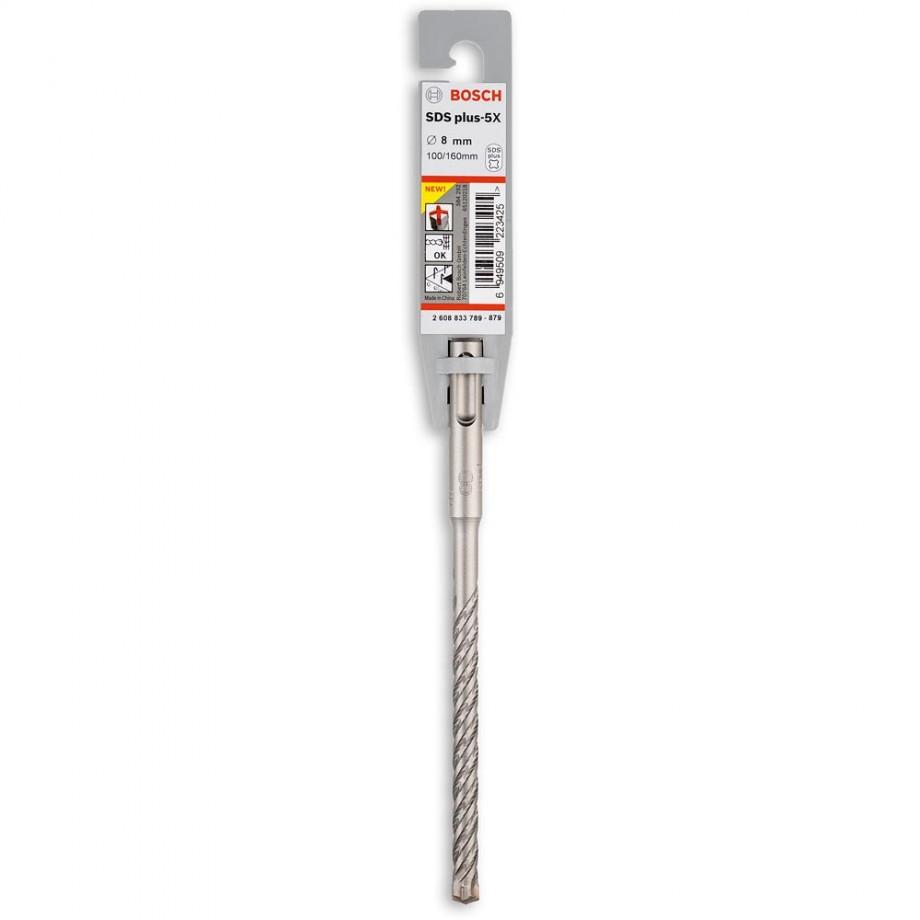 Bosch SDS+5  Hammer Drill Bit 8 x 100 x 160