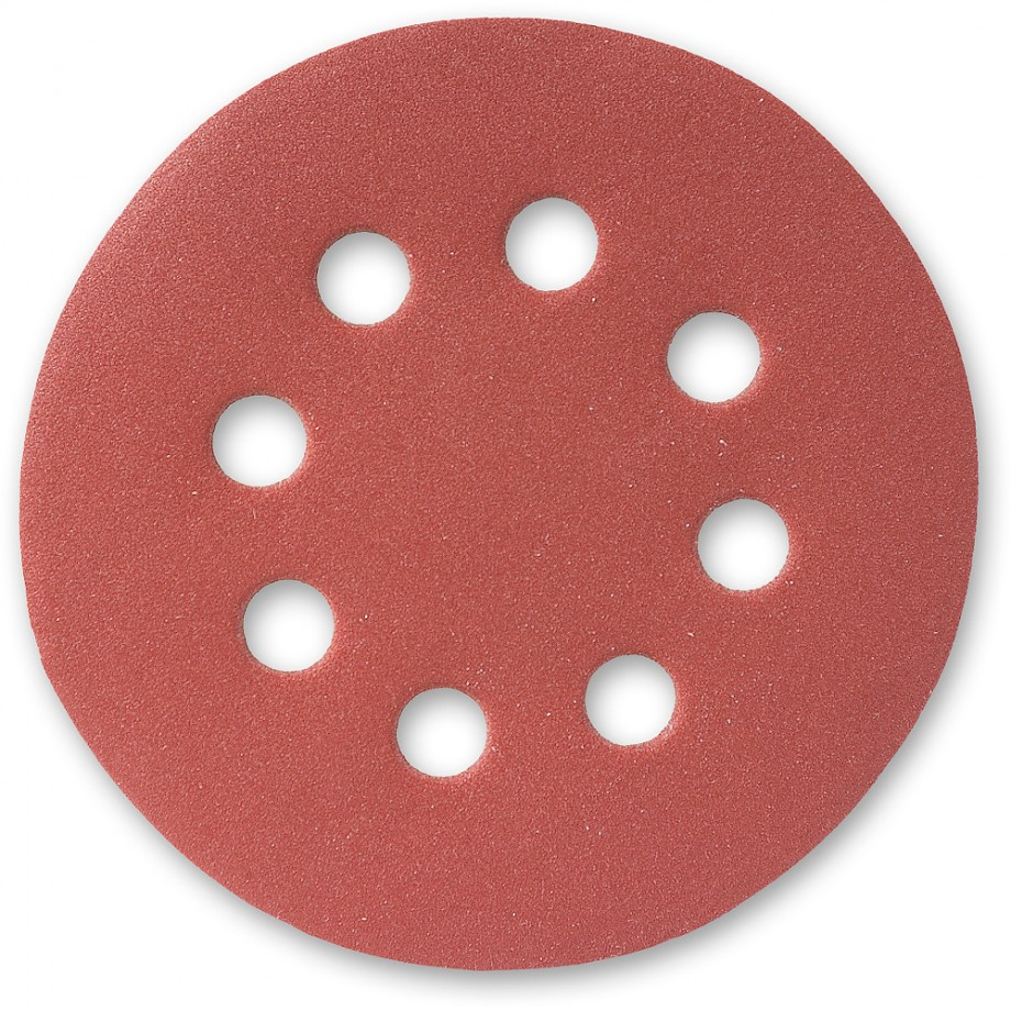 Abrasive Discs 125mm (8 hole)