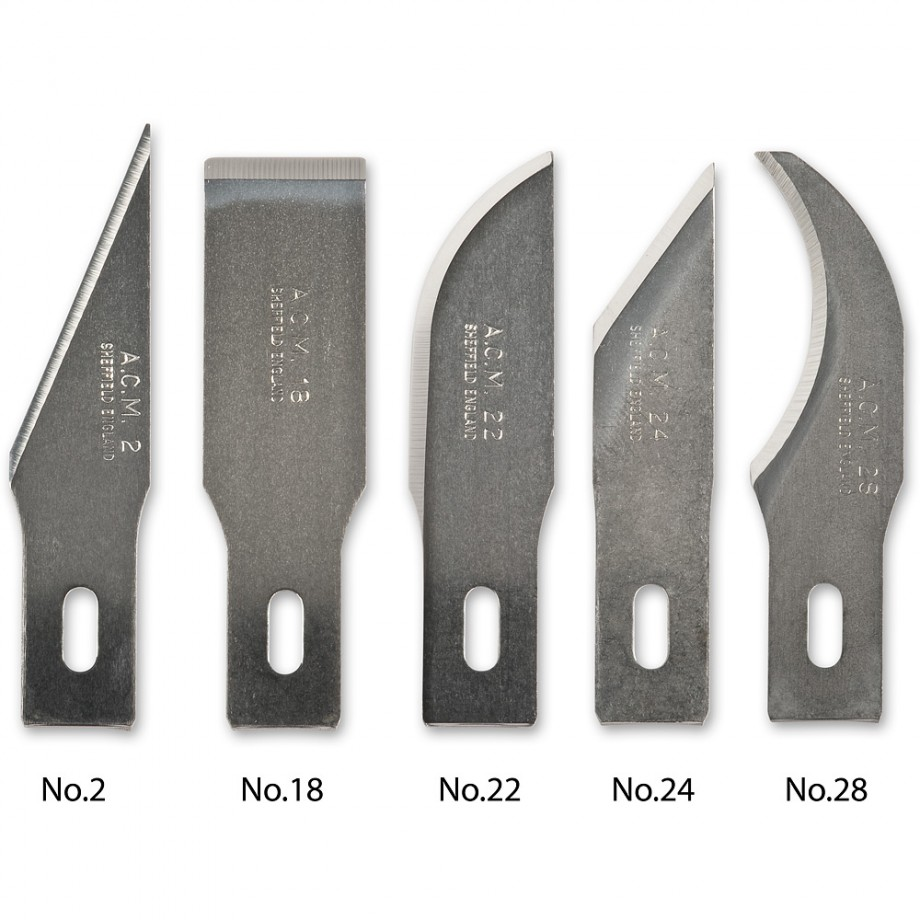 Swann Morton Blades for No.2 & No.5 Handles