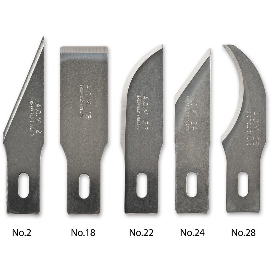 Swann Morton Blades for No.2 & No.5 Handles