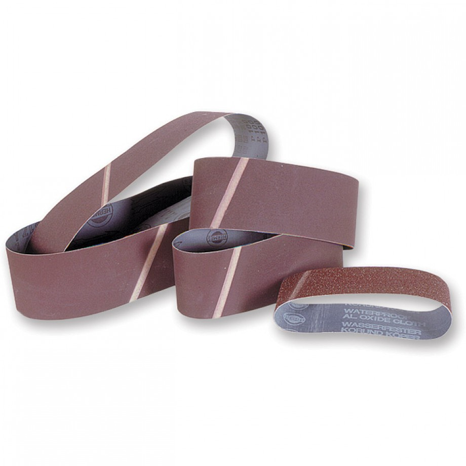 Hermes Cloth Sanding Belt 100 x 610mm x 100 Grit