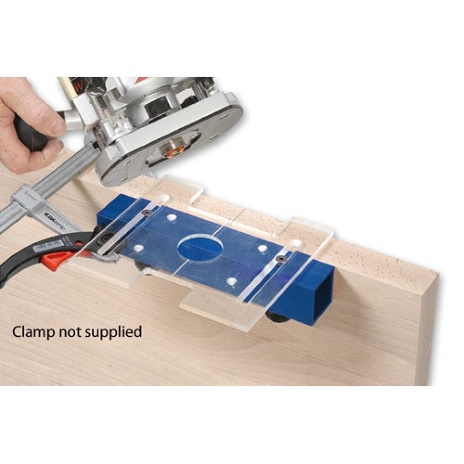 axminster universal hinge jig router jigs templates routing