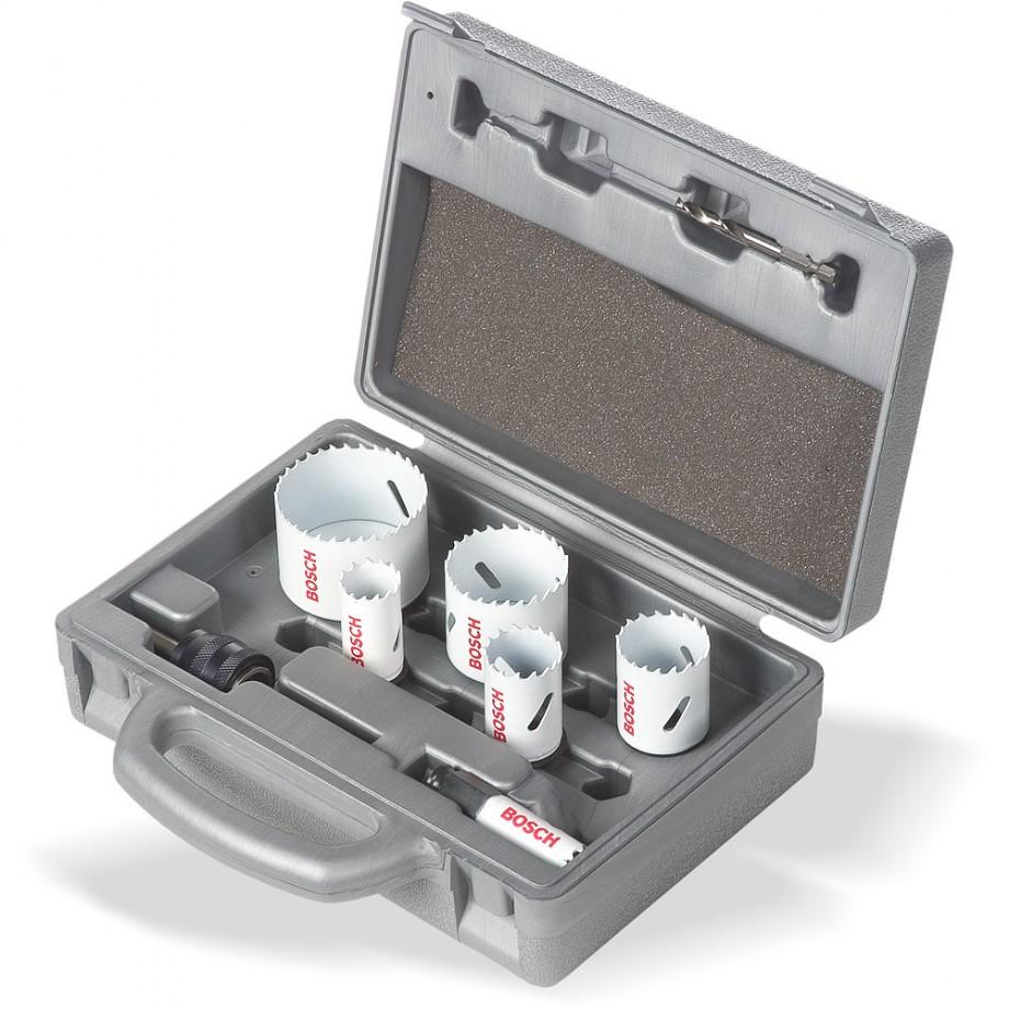 Bosch Electrician's Progressor Holesaw Kit 8 Piece