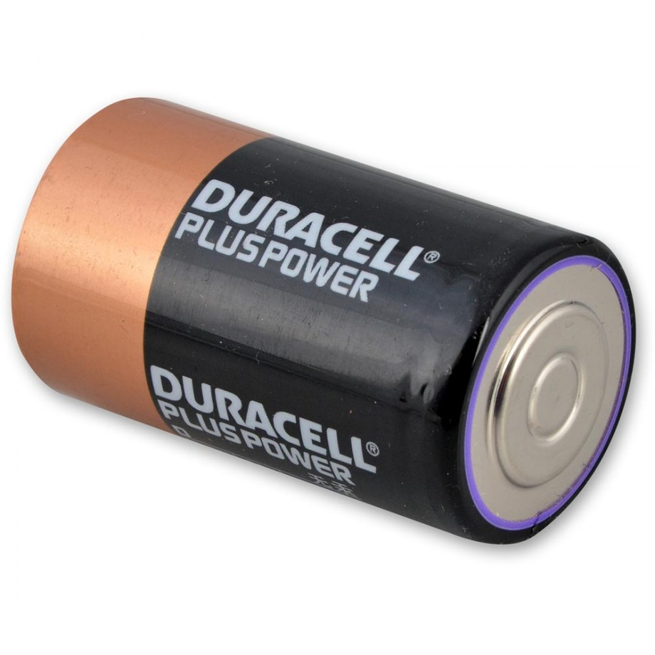 Duracell Battery D (LR20) (Pkt 6)