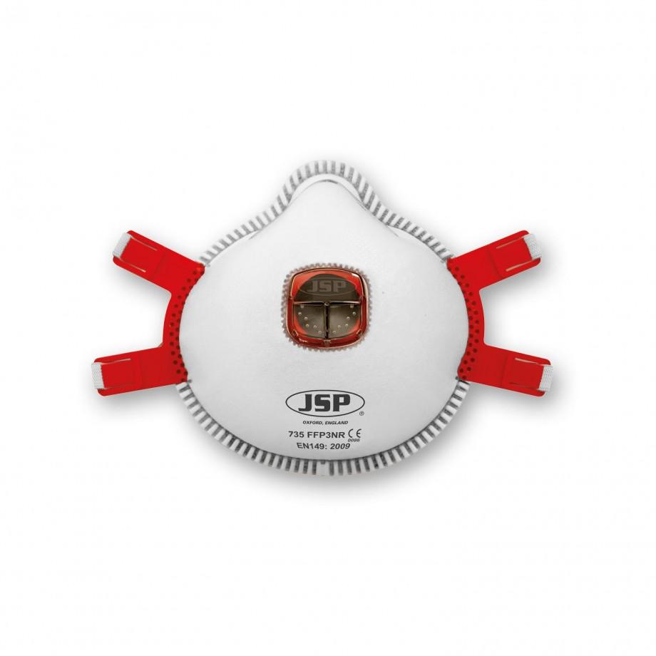 JSP Typhoon Moulded Respirator Valved FFP3 (Pkt 10)