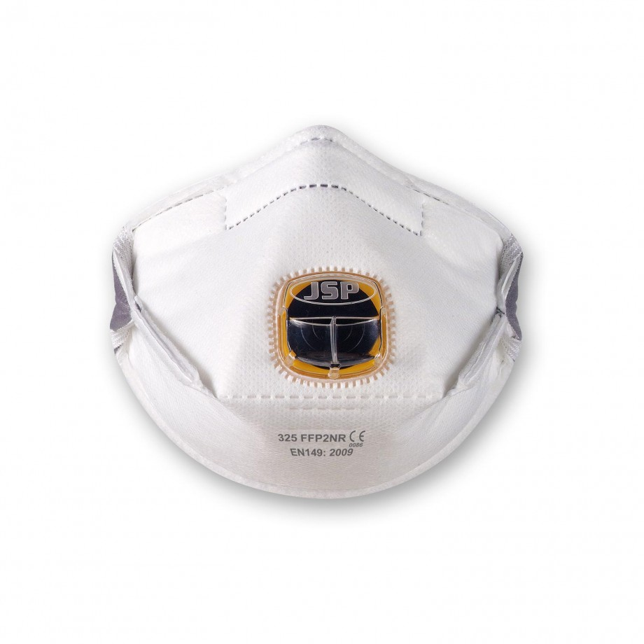 JSP Typhoon Fold Flat Valved Respirators