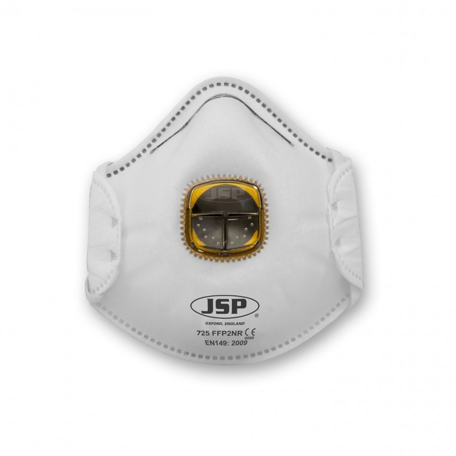 JSP Moulded Typhoon Respirator Valved FFP2 (Pkt 10)