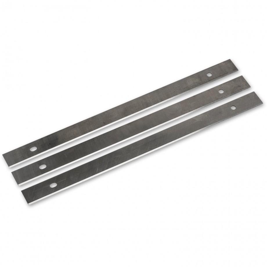Axminster 260mm HSS Disposable Knives (Pkt3)