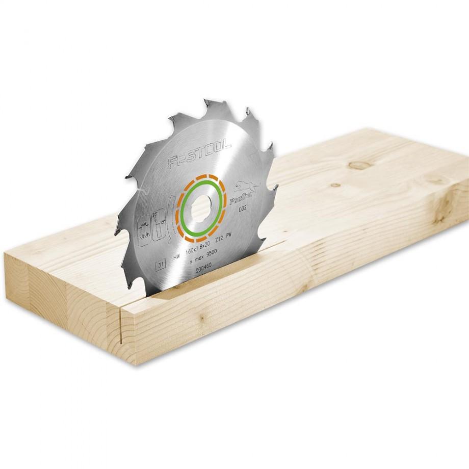 Festool HKC55 Saw Blade 160 x 1.8 x 20mm T12