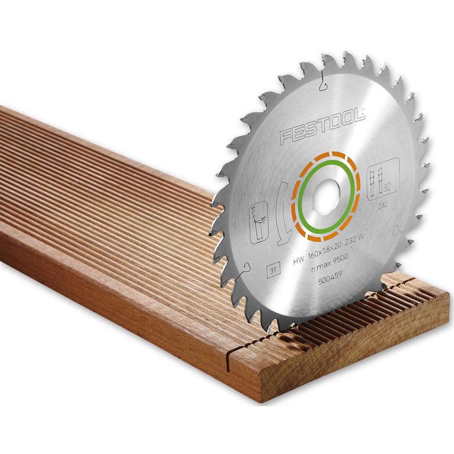 Festool HKC55 Saw Blade 160 x 1.8 x 20mm T32