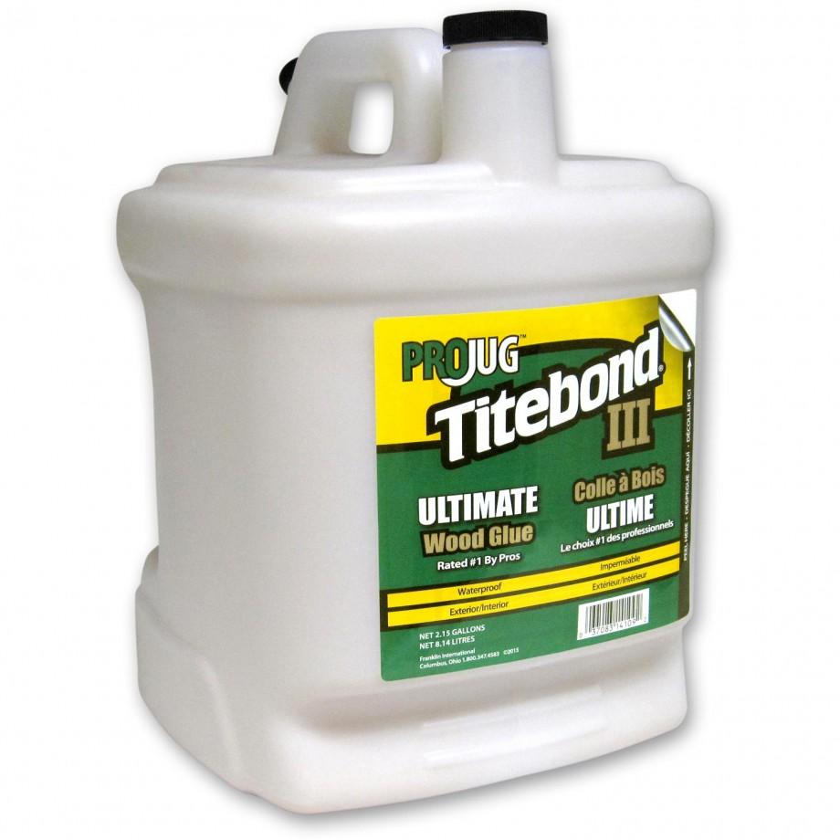 Titebond III Waterproof Wood Glue - 8 litres (2.1 US Gall)