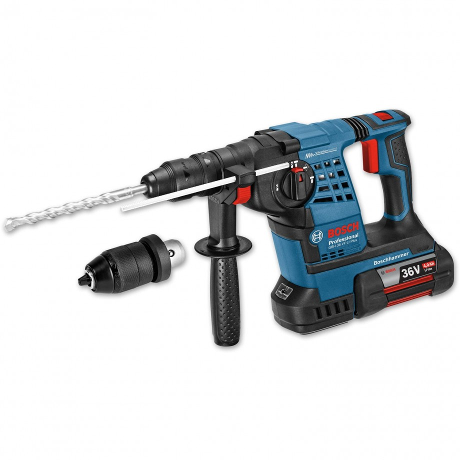Bosch GBH 36 VF-LI Plus Cordless SDS+ Drill 36V (4.0Ah)