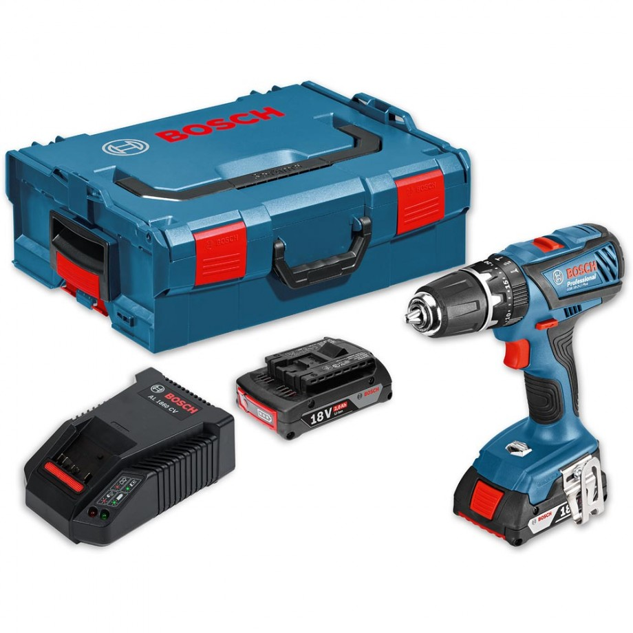 Bosch GSB 18-2-LI Cordless Combi Drill 18V (2.0Ah) - Combi Drills ...