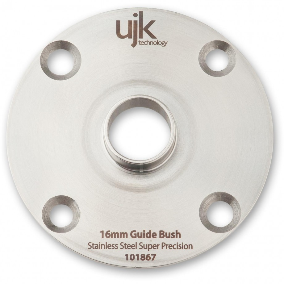 UJK Technology Stainless Steel Guide Bush 16mm