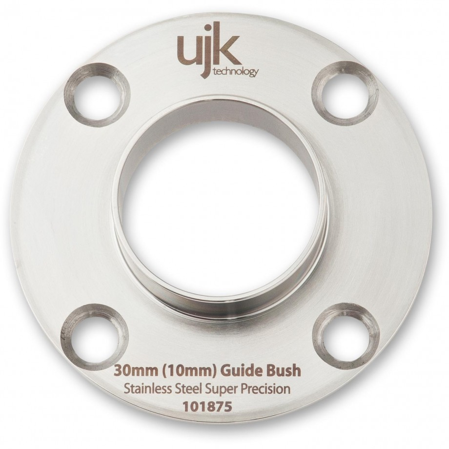 UJK Technology Stainless Steel Guide Bush 30mm (10mm projection)