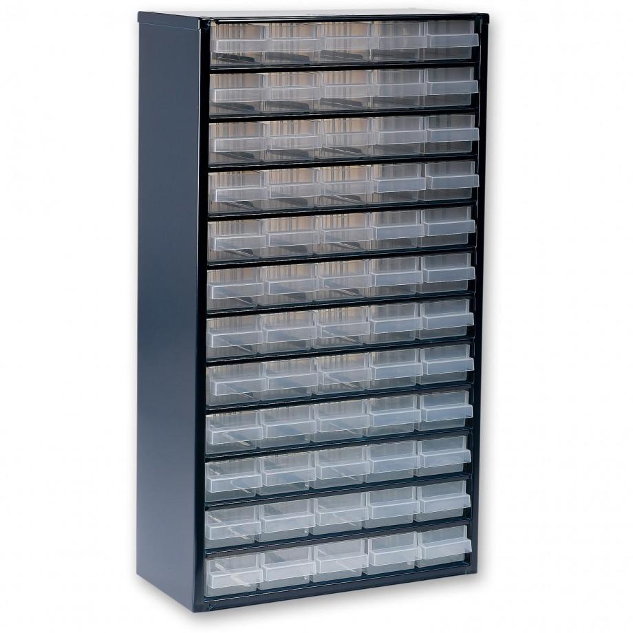 Raaco 1260-00 60 Drawer Metal Cabinet