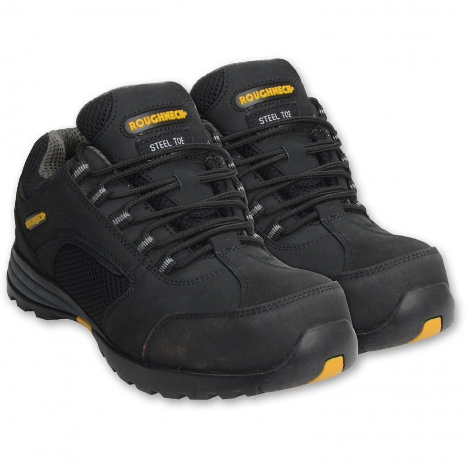 Roughneck Stealth Safety Trainer Size 8