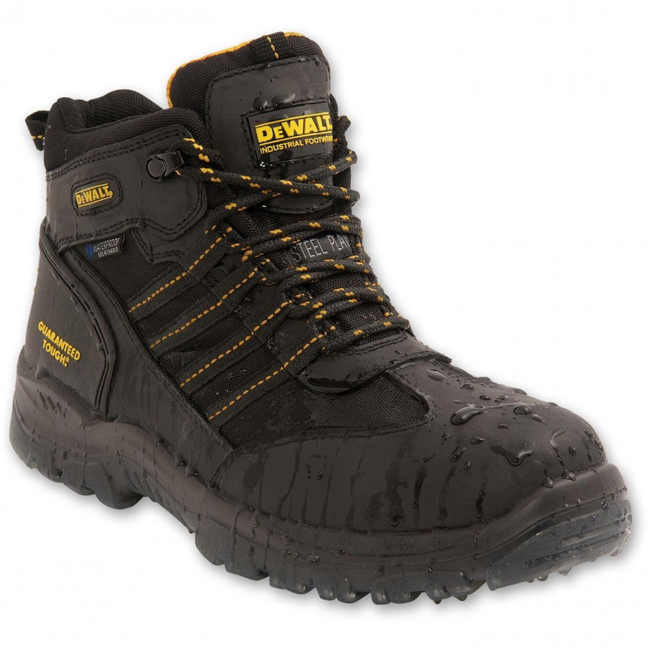 DeWALT Nickel Safety Boot Black Size 10