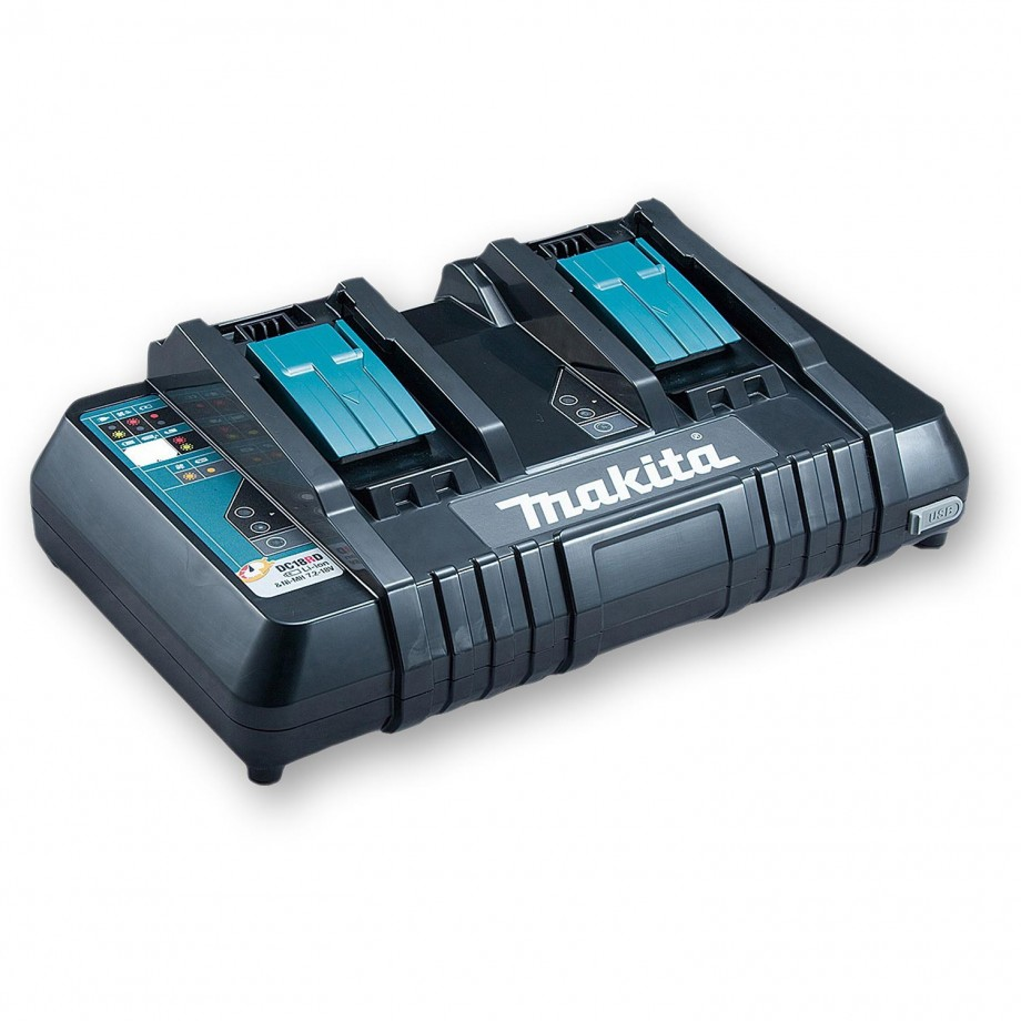 Makita DC18RD Twin Port Charger