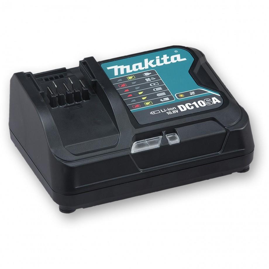 Makita DC10SA 10.8V Slide Battery Fast Charger