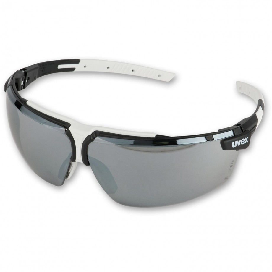 uvex i-3 Safety Spectacles Sunglare/Silver Mirror