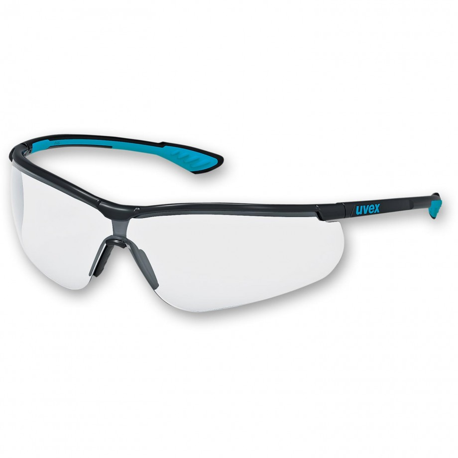 uvex Sportstyle Safety Spectacles Clear