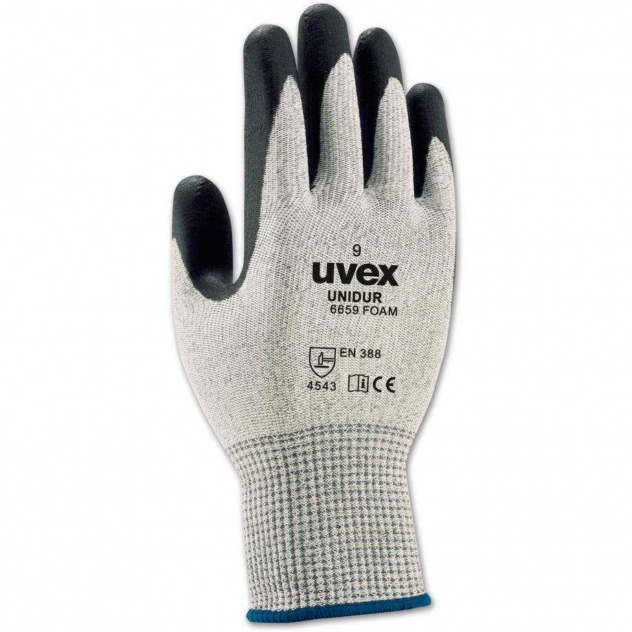 uvex unipur 6659 Foam PU universal Work Gloves 9