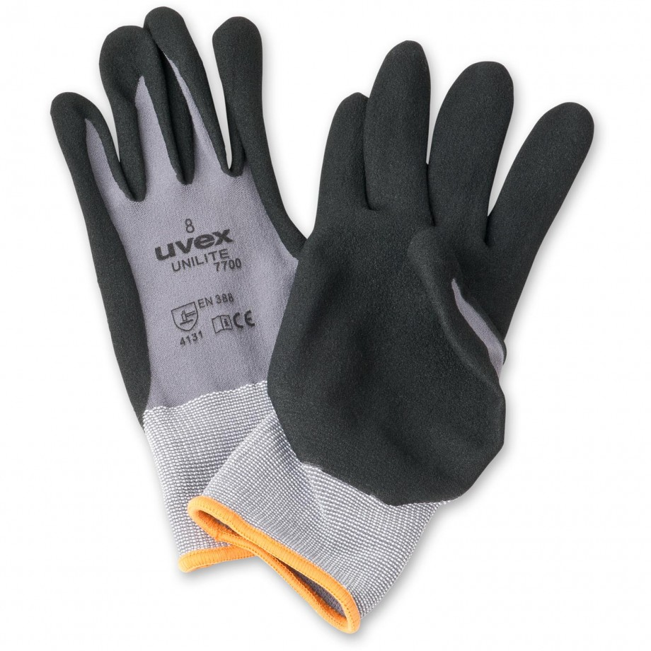 uvex unilite 7700 Nitrile PU Work Gloves 9