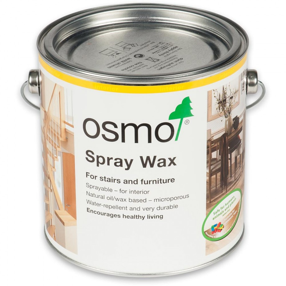 Osmo Spray Wax 3084 Clear Matt 2.5L